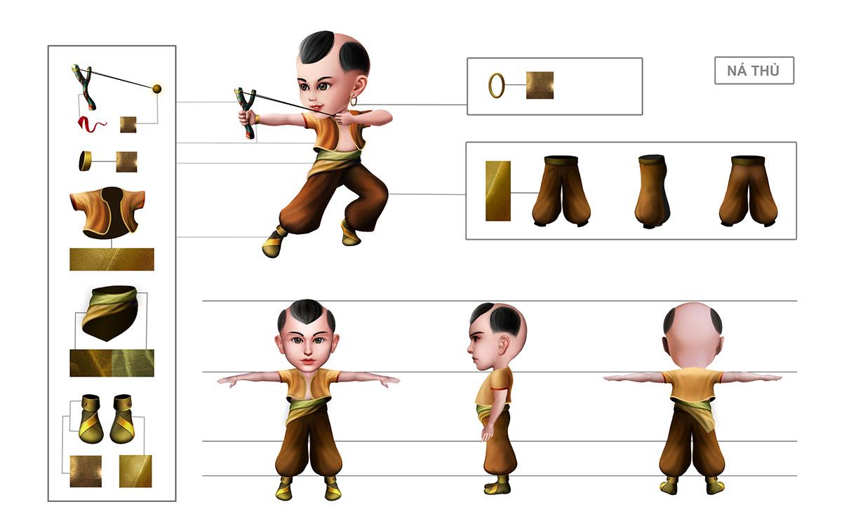 2d artist hcm art concept concept art Digital Art  hoạt hình mầm Illustrator mam thinh brand