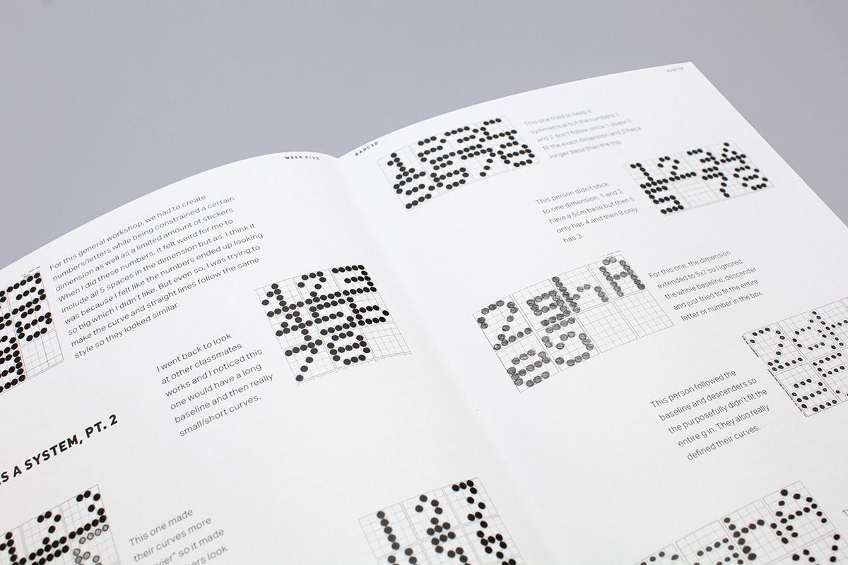 graphic design  journaling