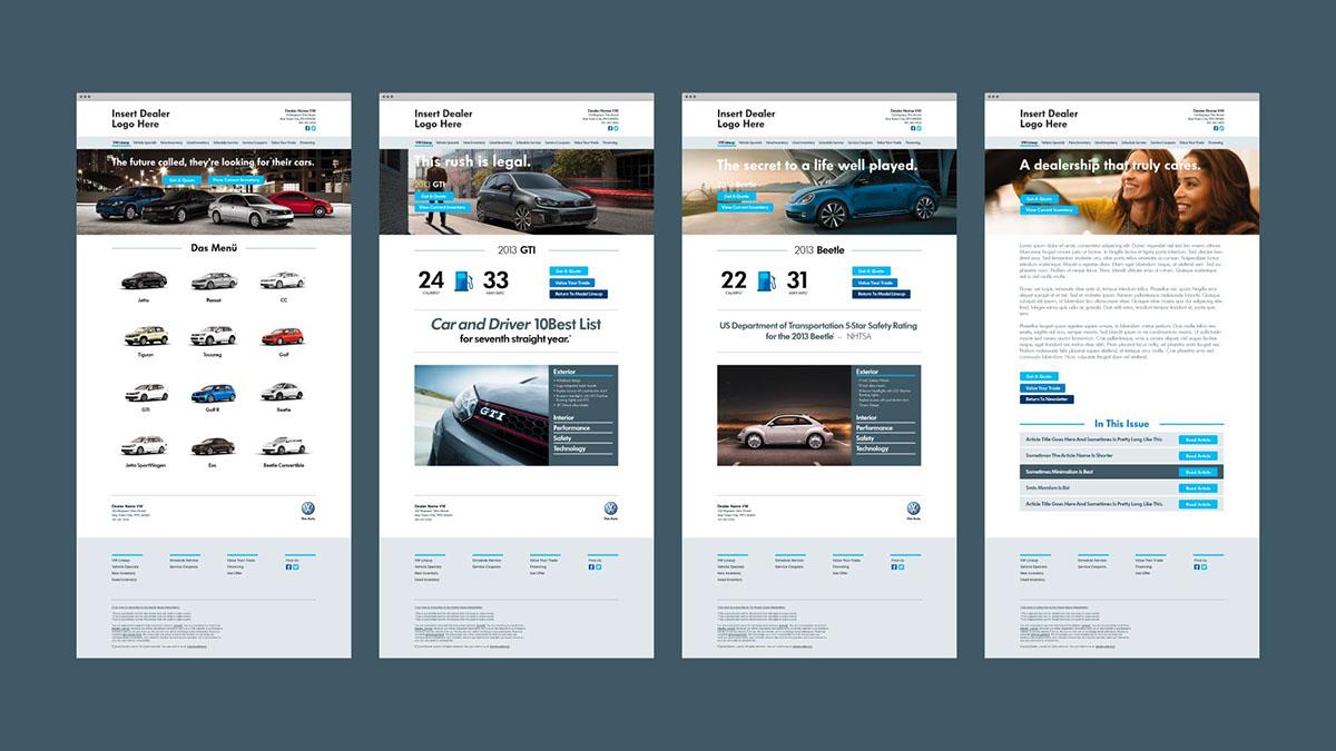 Volkswagen Dealer Digital On Pantone Canvas Gallery