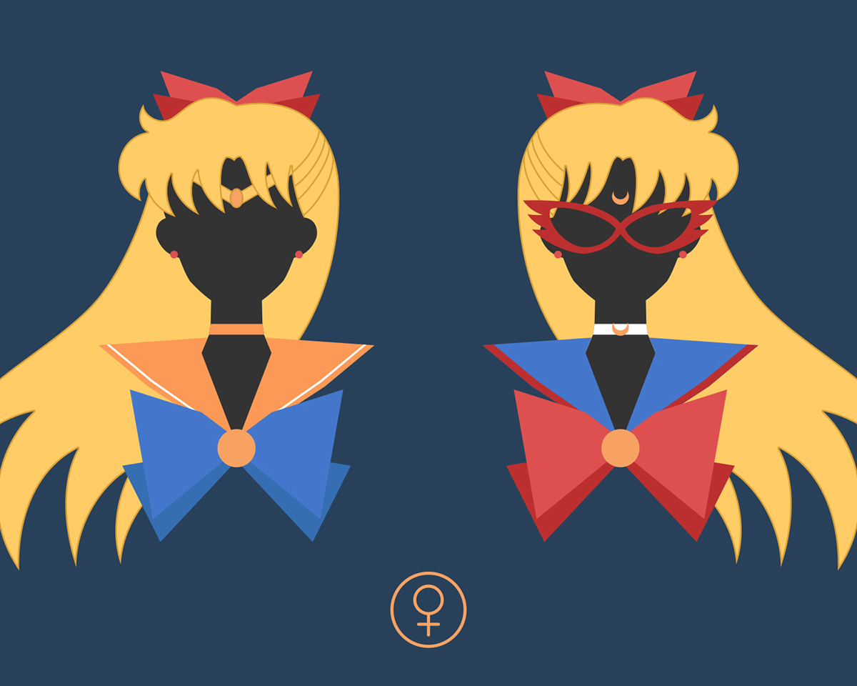 Vector sailor moon series solar senshi portraits on behance love sailor moon both manga and anime so much so i try to draw the characters symbols and items in a vector style mainly based on the manga settings biocorpaavc Images