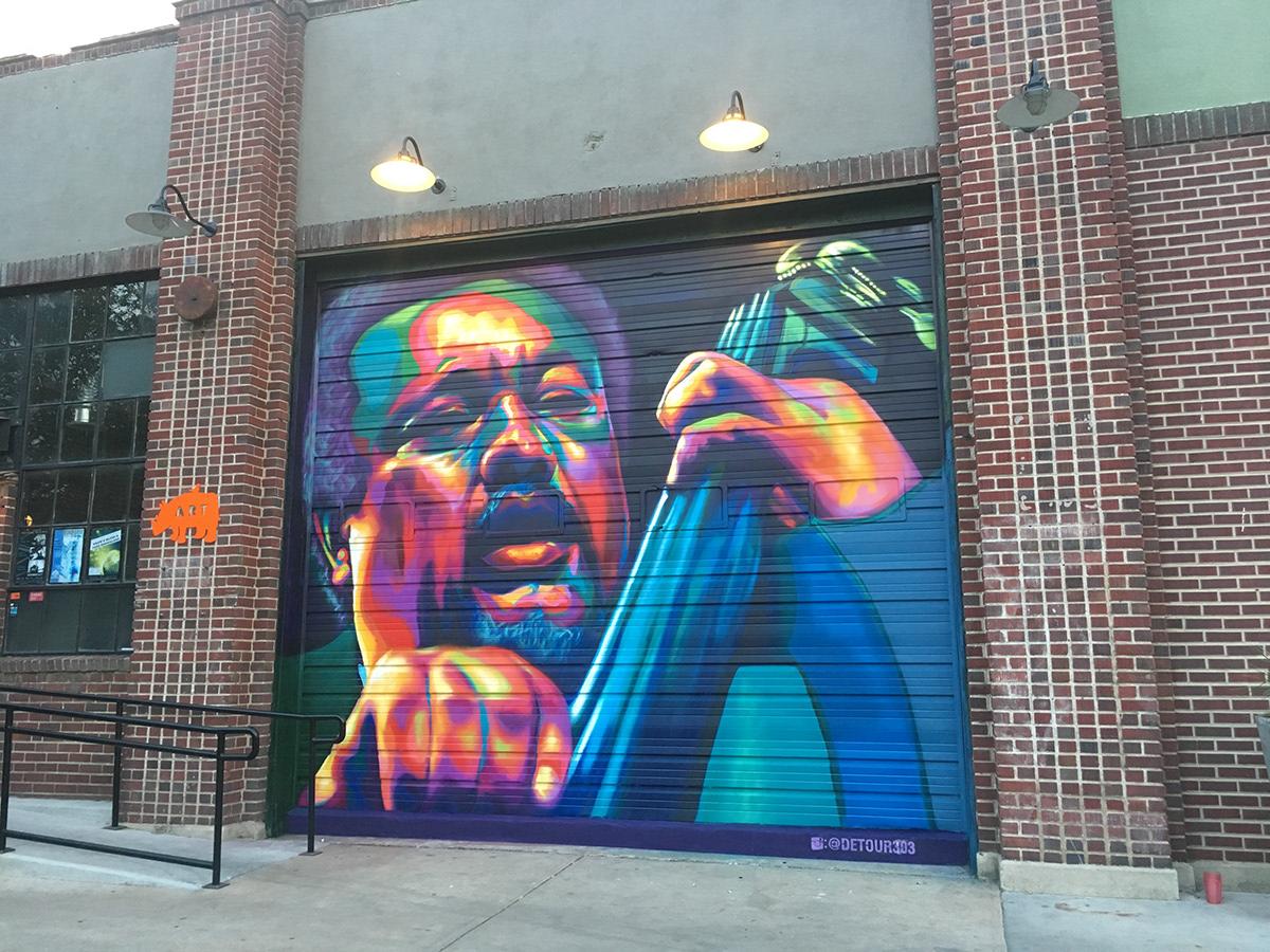 Image may contain: painting, graffiti and drawing