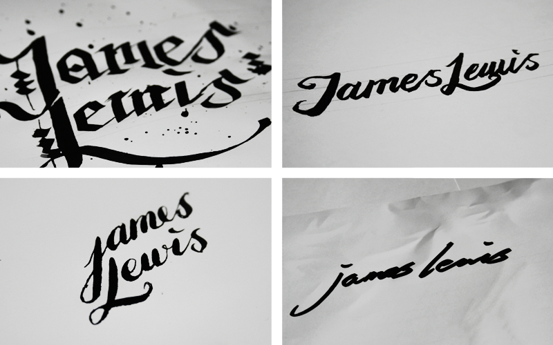 James lewis personal branding on behance