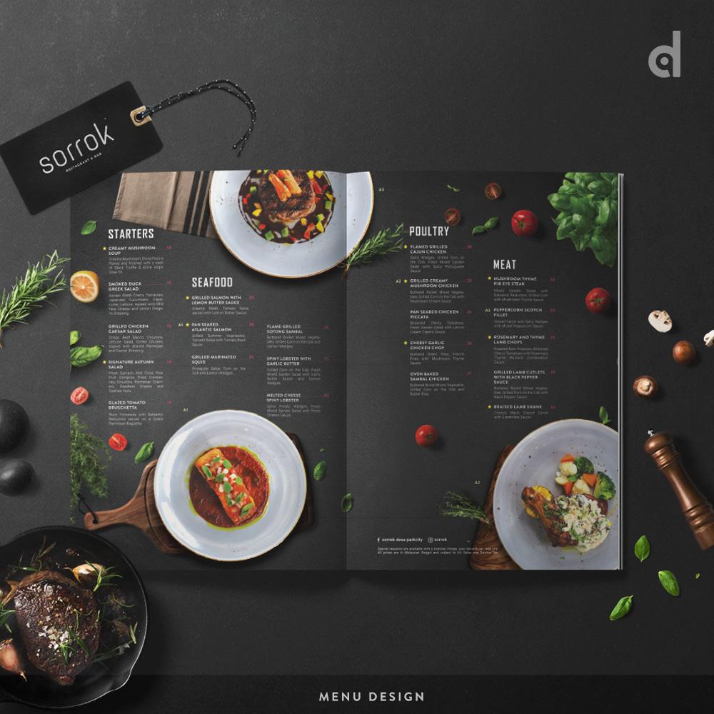 Image may contain: menu, food and screenshot