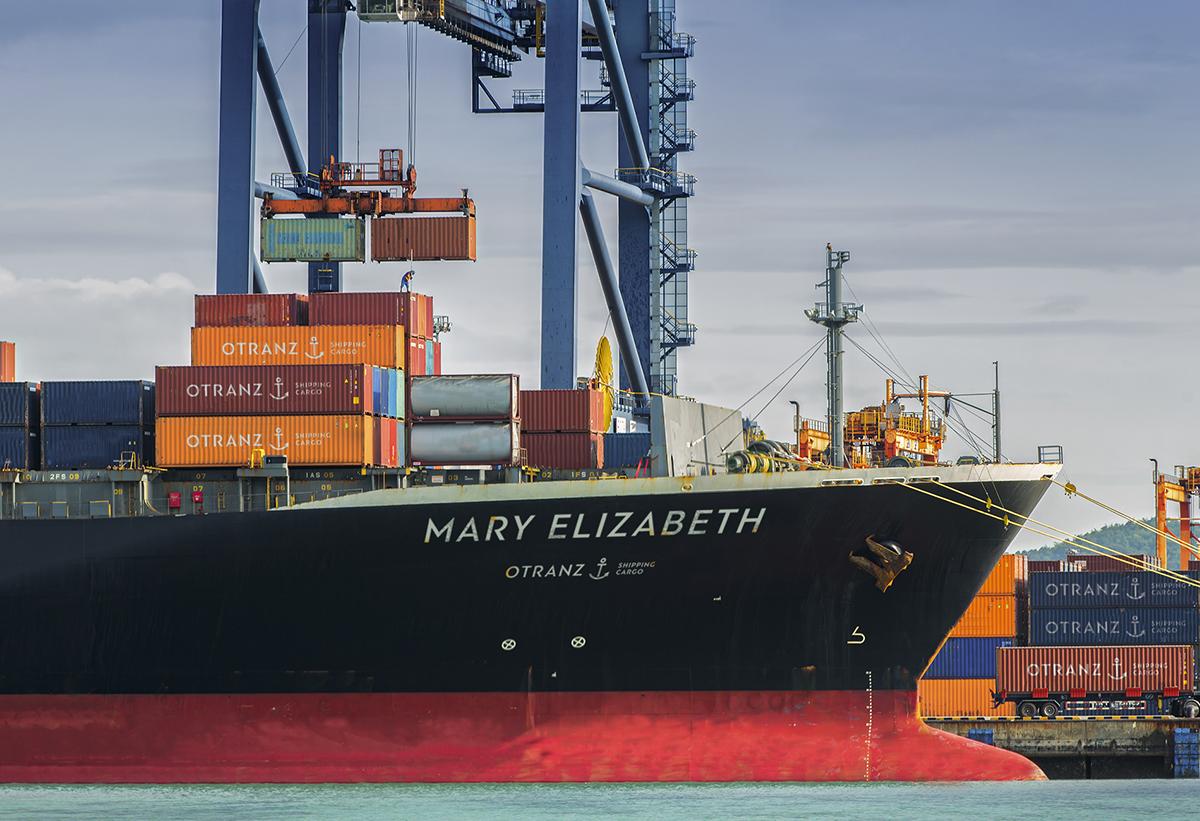 identity Cargo ship shipping arrow anchor transportation Transit Transport container terminal