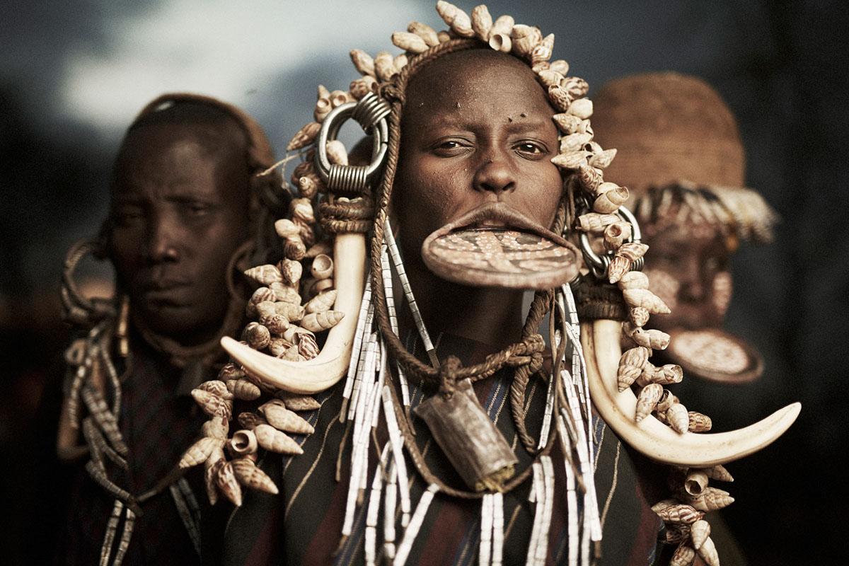 mursi tribe on behance