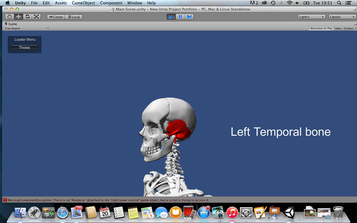 Skeletal System Navigation Game On Behance