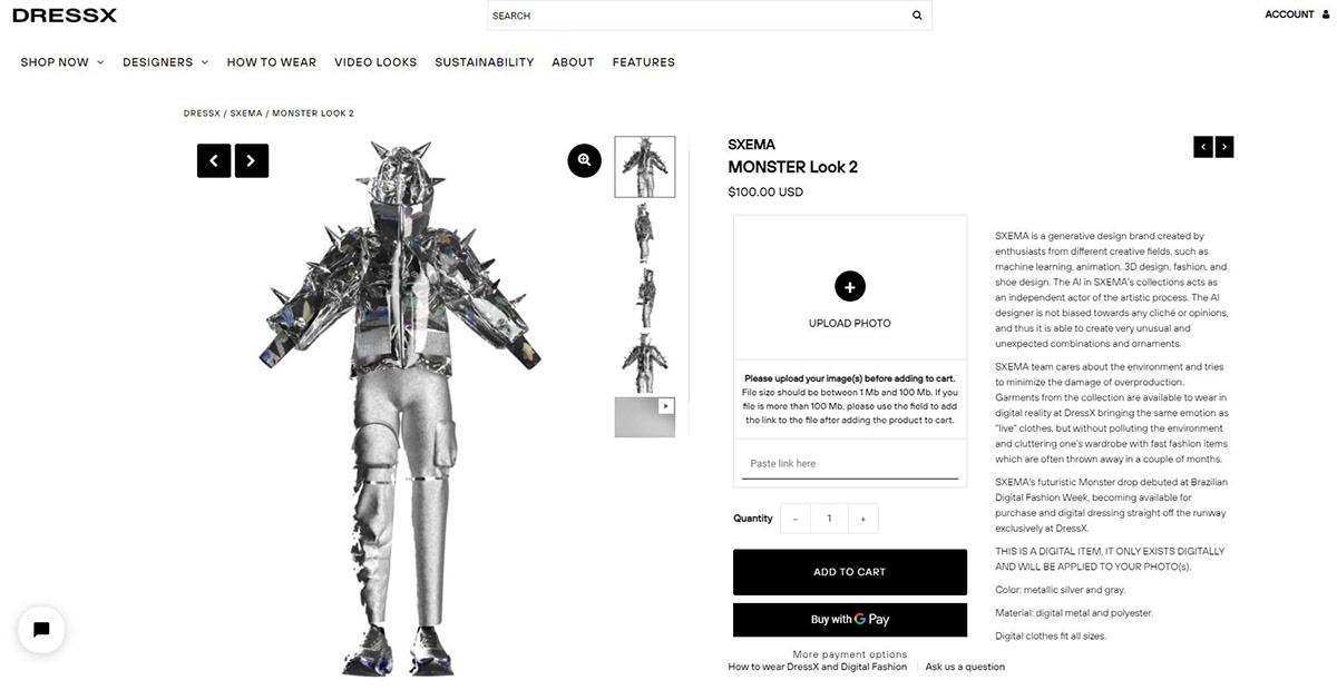 3D 3d clothers 3d fashion AR digital fashion generative art neural art neural network virtual fashion