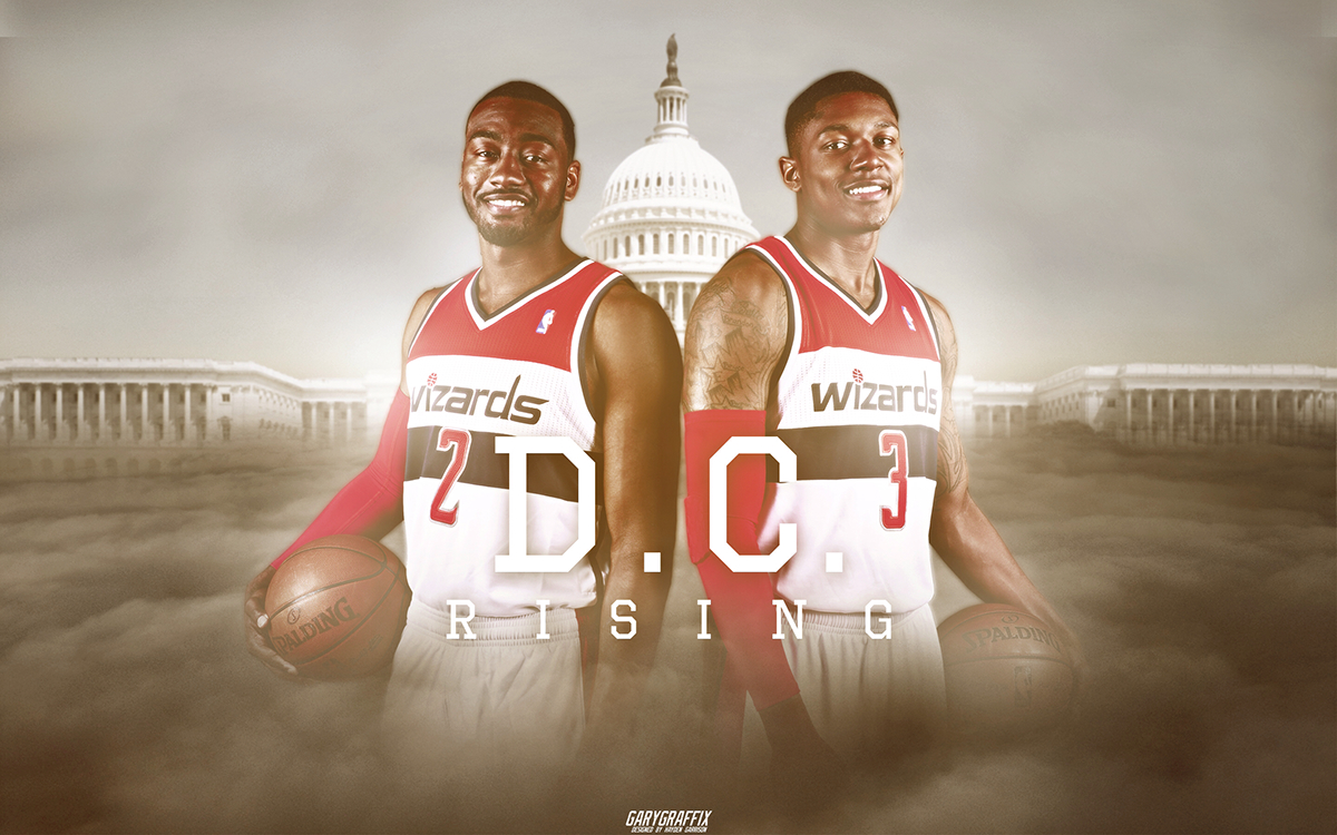 Washington Wizards - D.C. Rising Wallpaper on Behance