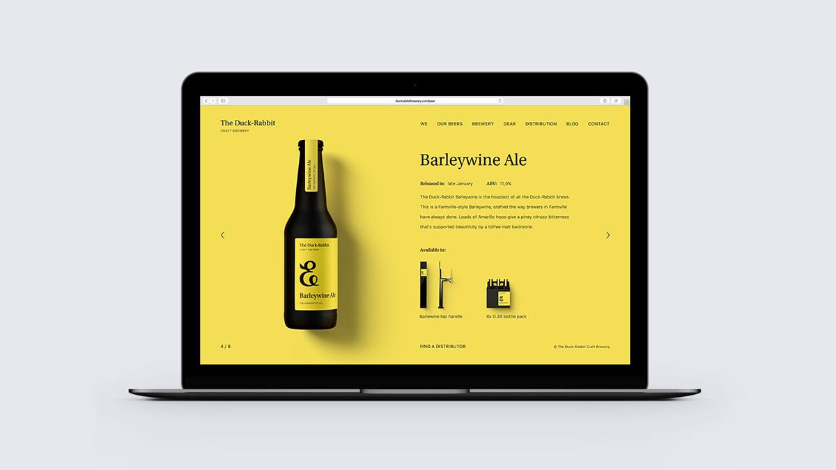 beer brew bottle ampersand monogram package craft alcohol