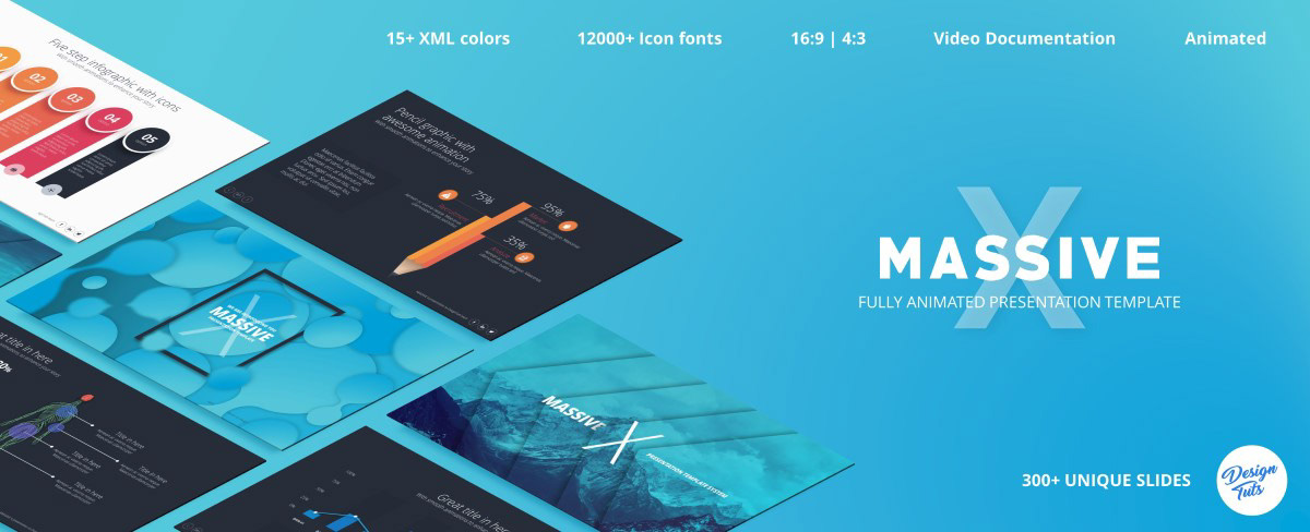 Massive X Presentation Template v.5.2 Fully Animated - 18