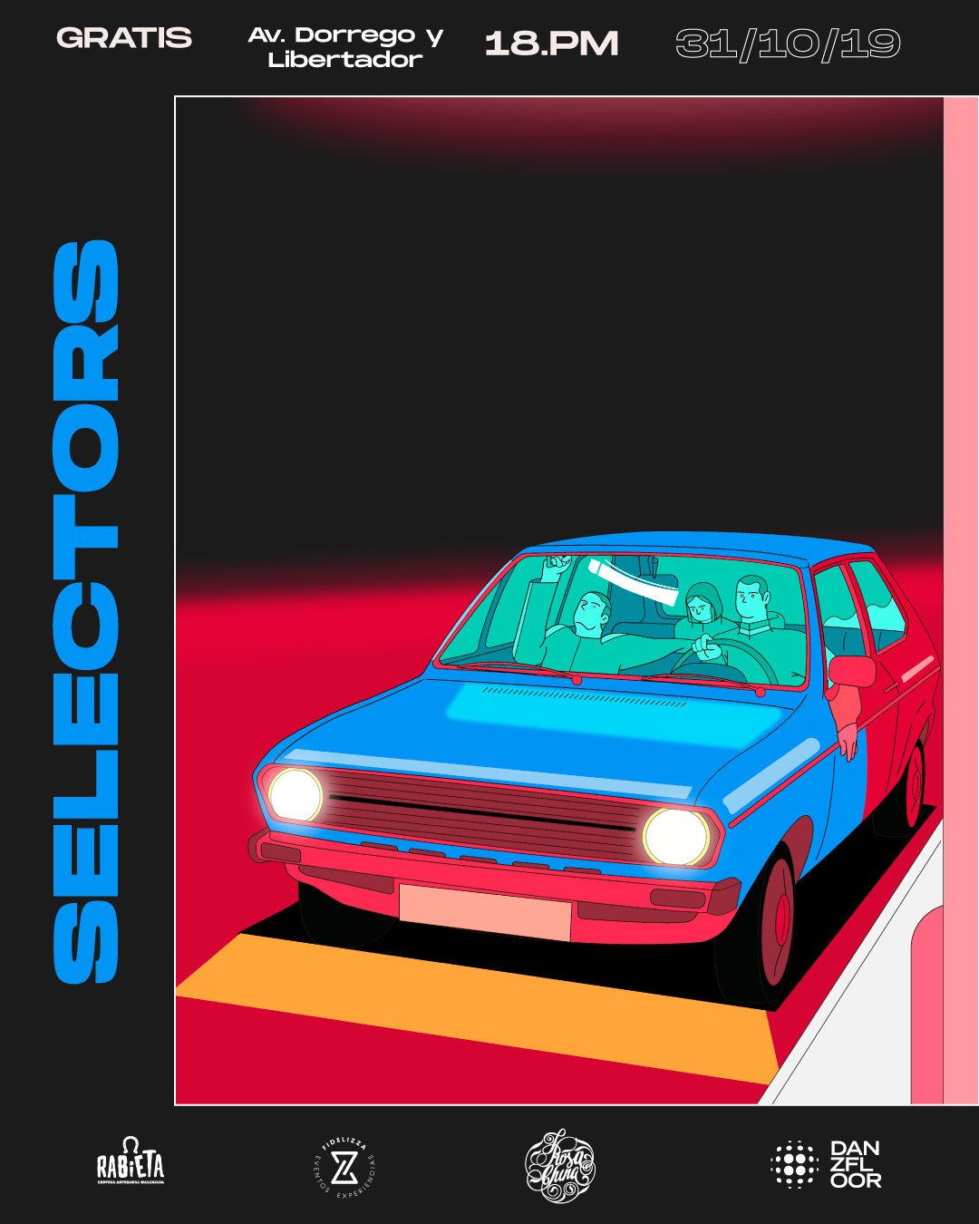 ILLUSTRATION  Ilustrtacion poster flyer design diseño
