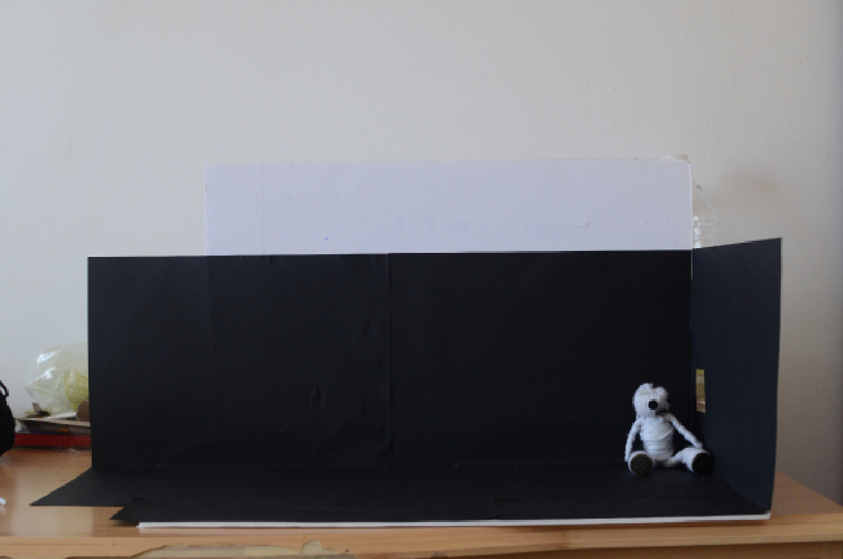 stopmotion video Character wool animation