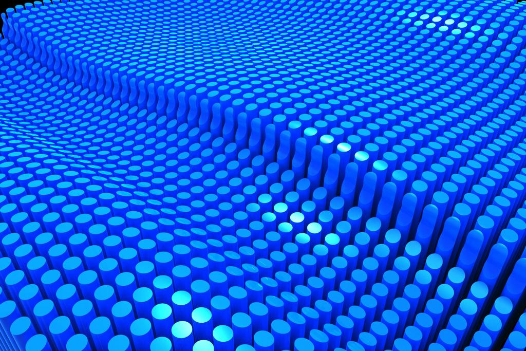 pattern 3D wave cad