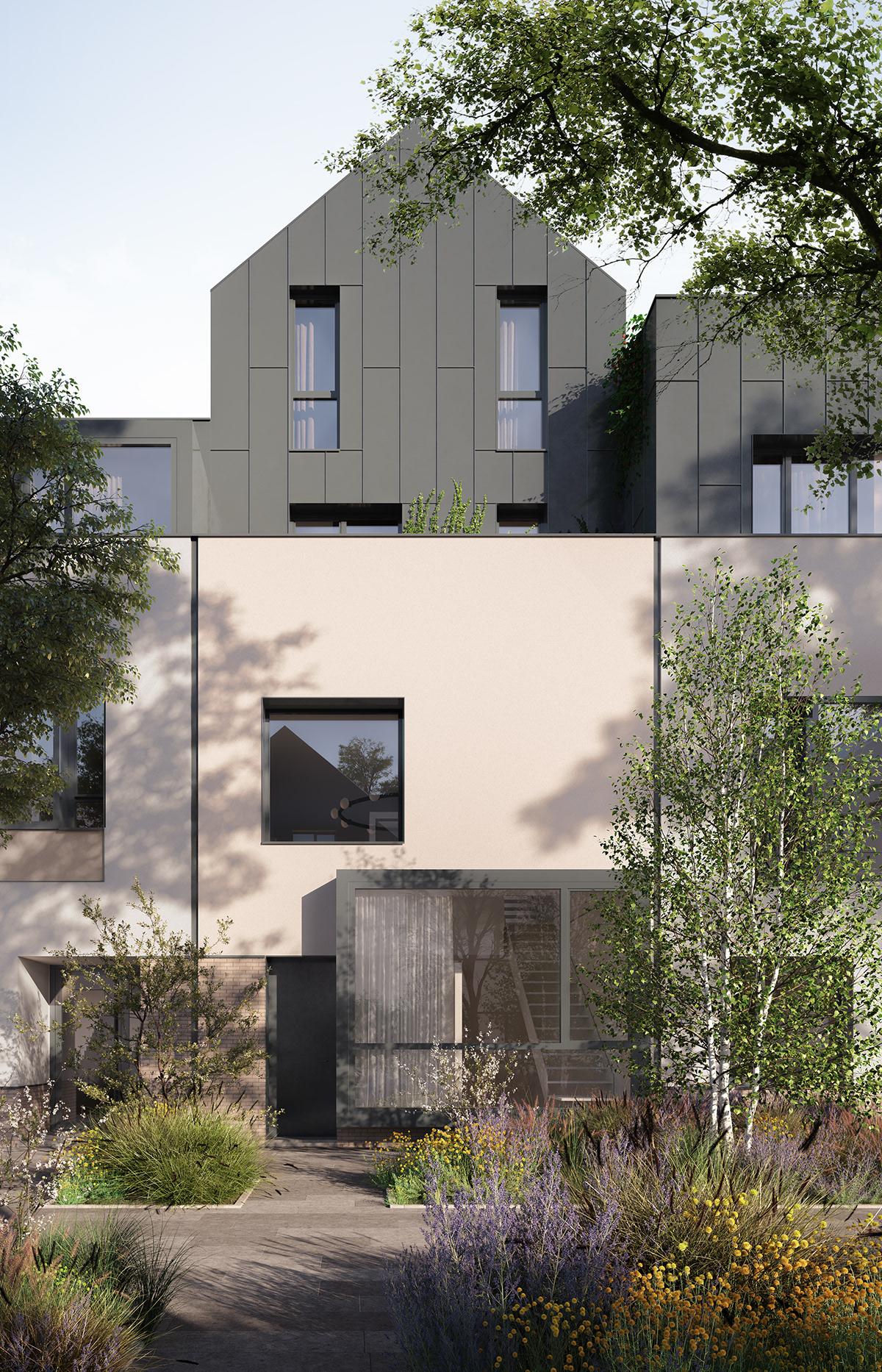 3D architecture archviz CGI design exterior Interior rendering visuals vray
