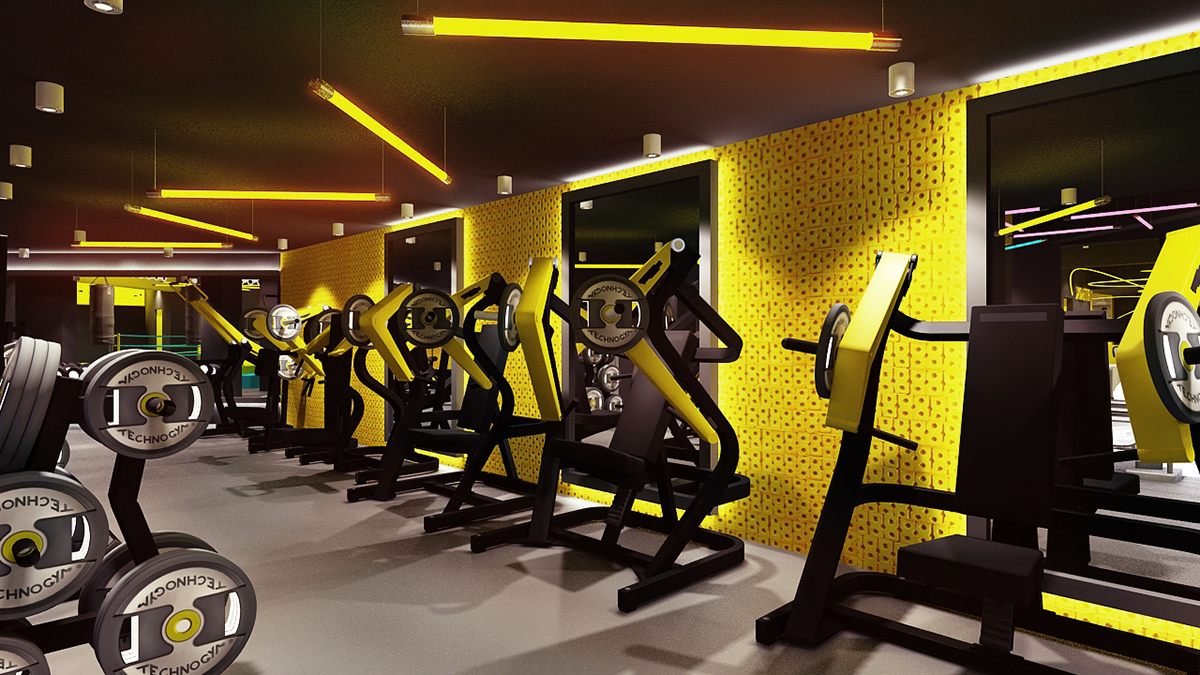 fitbox l gym on behance