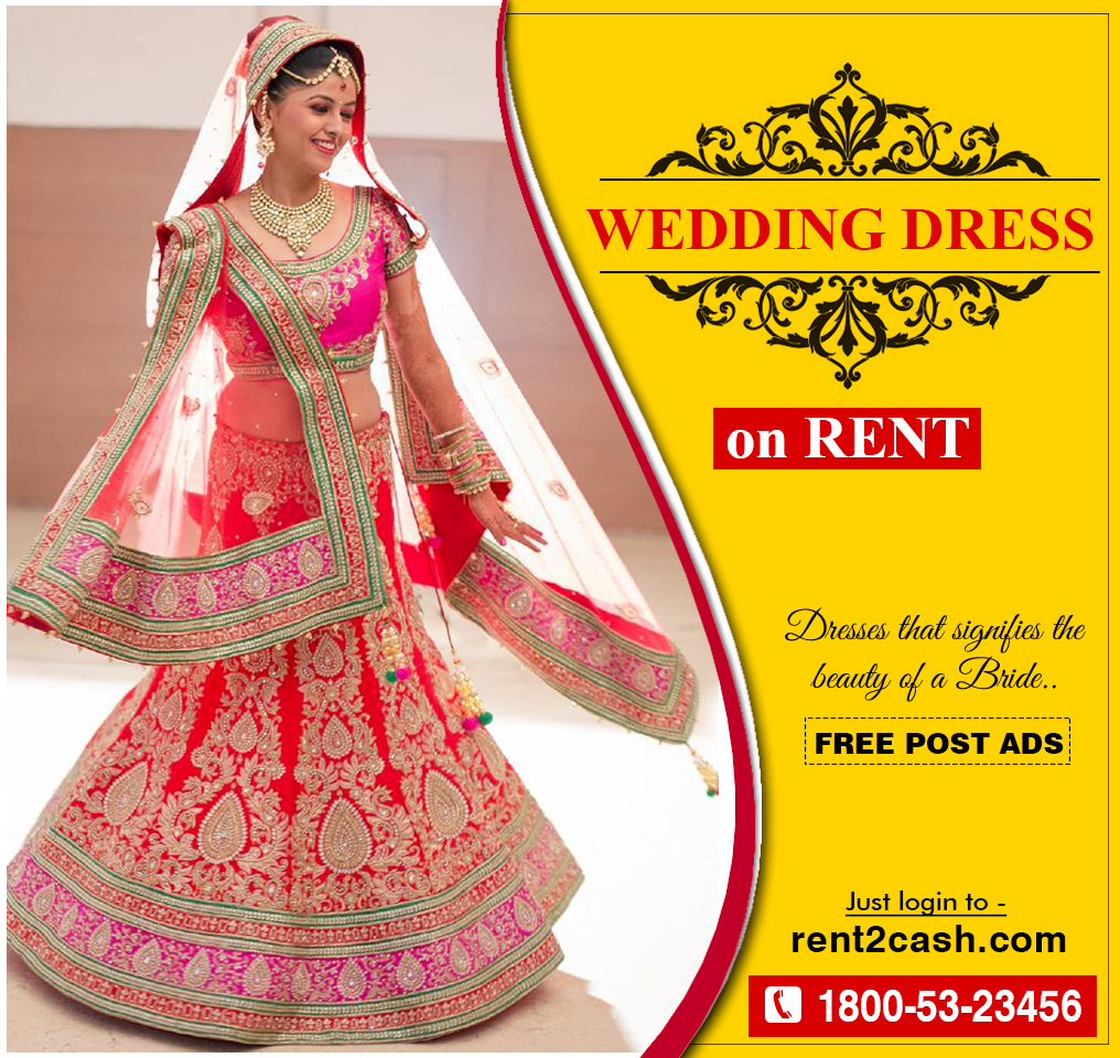renting a wedding dress rent a wedding dress now you can get a bridal dress on rent from rent2cash at your location get more detail on