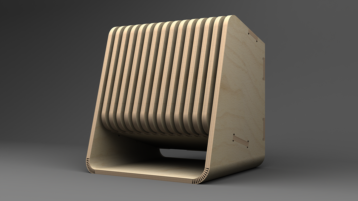 Itx pc case design on behance for Design a case