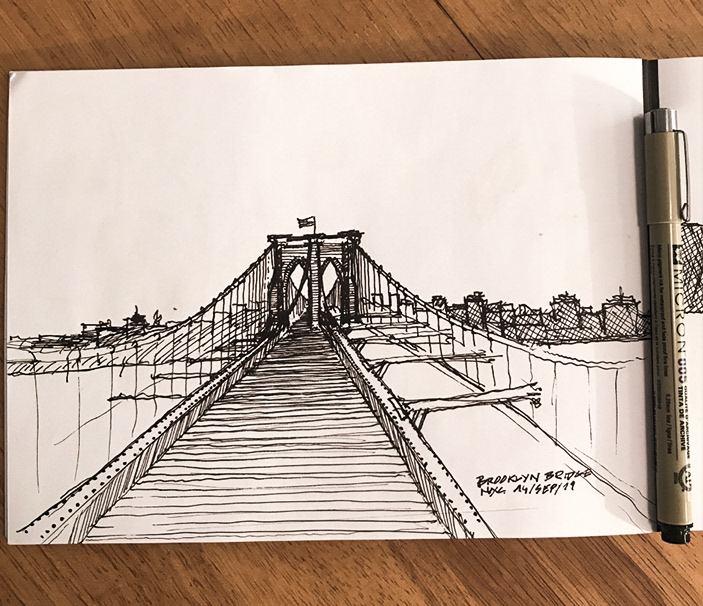 Image may contain: drawing, sketch and stairs