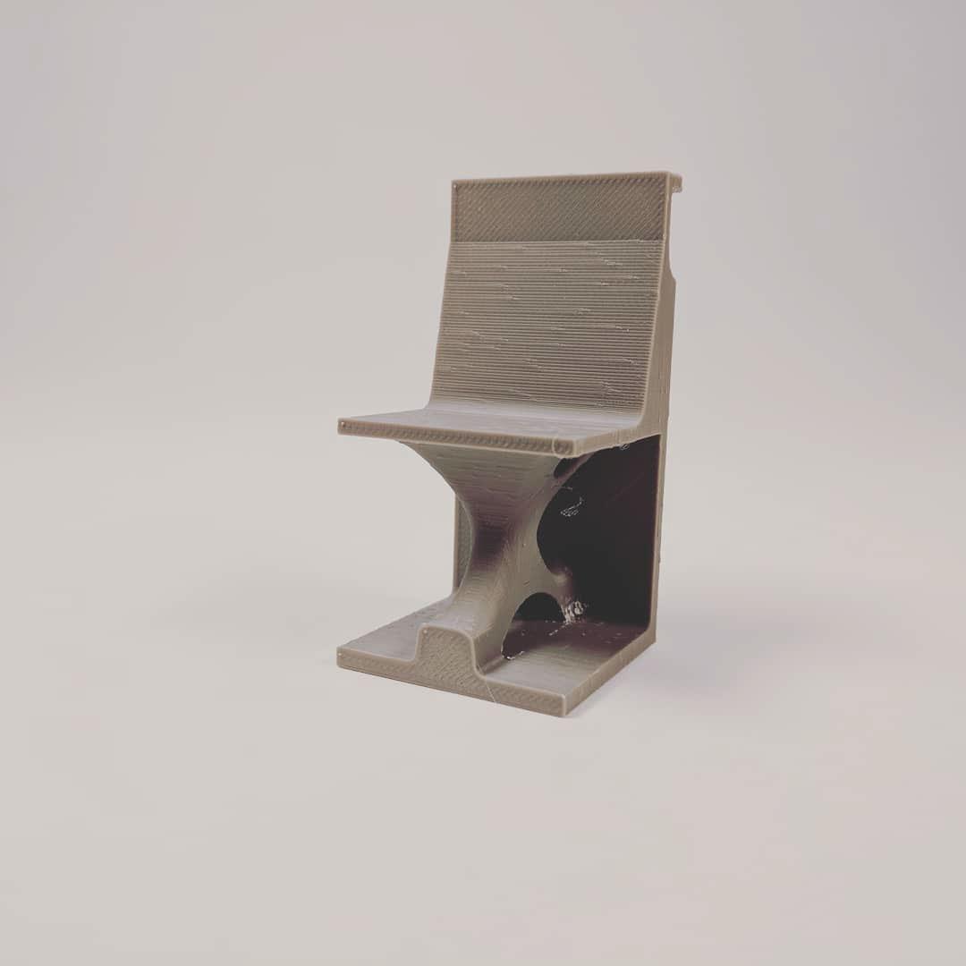Generative Modeling Topographical optimization topography design generative design furniture fusion