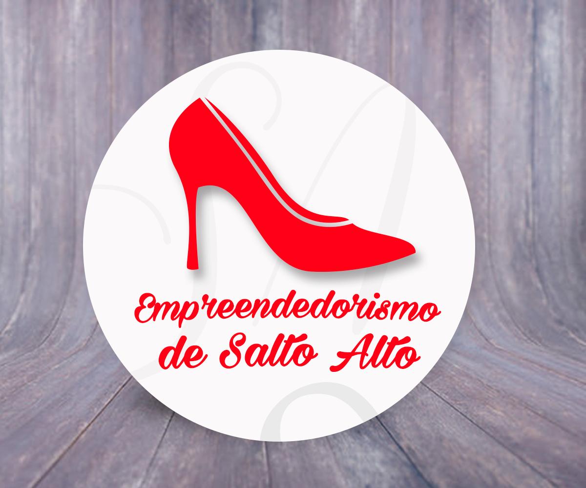 Logomarca empreendedorismo de salto