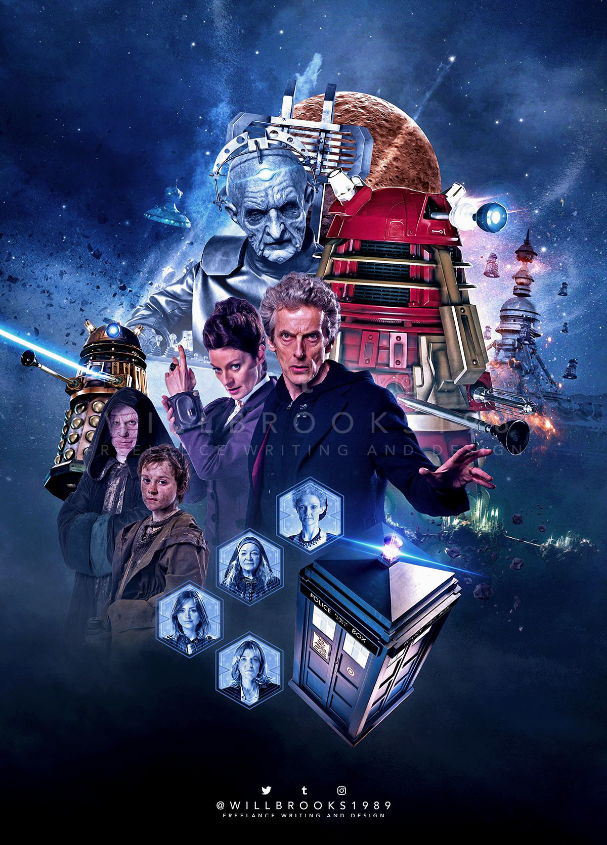Doctor Who Other Artwork On Behance