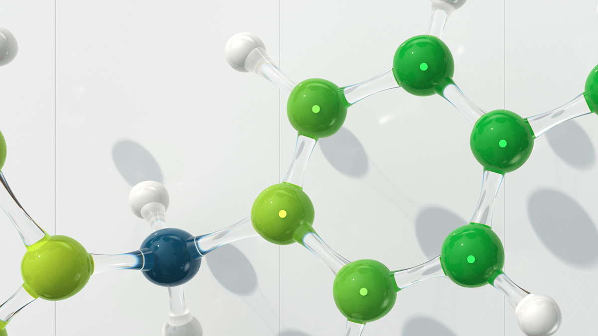 crystals glass molecule Pharmaceutical 3d website medical green landing page UI Animation Web Design
