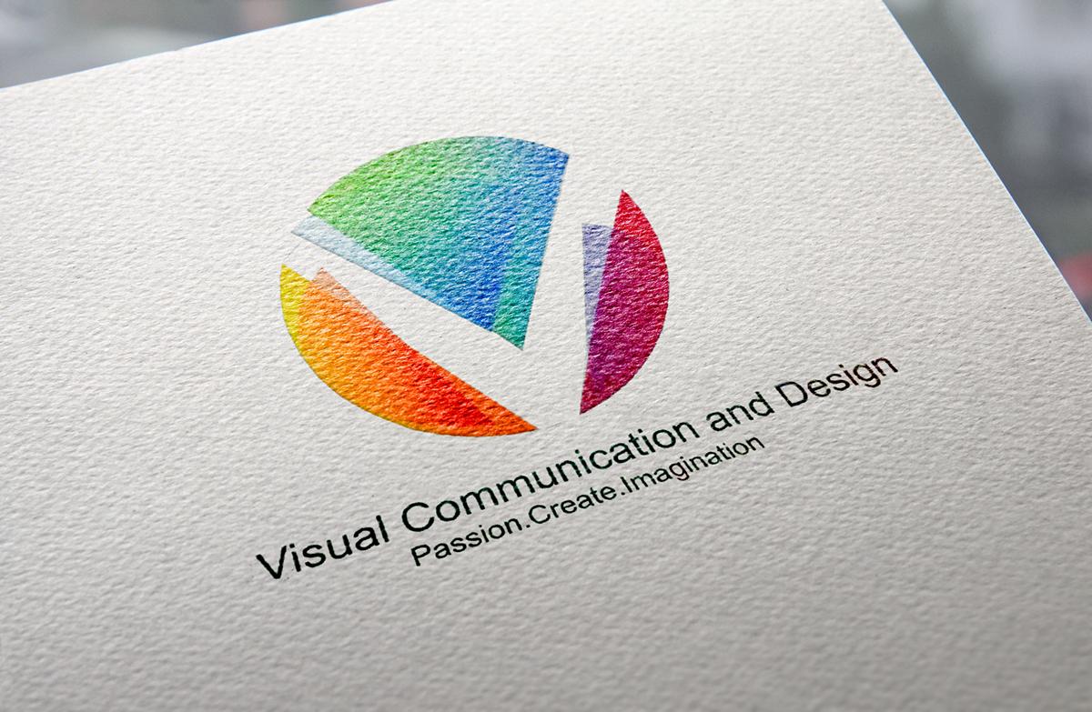 VISUAL COMMUNICATION DESIGN LOGO PROJECT on Behance