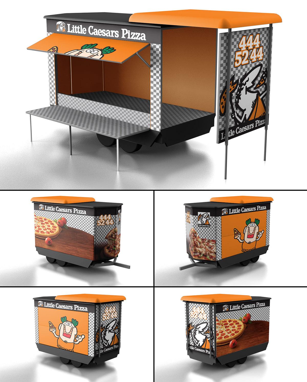Little Caesars Food Truck