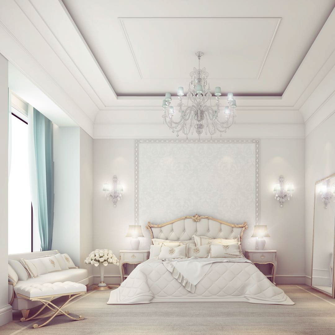 Design An Elegant Bedroom In 5 Easy Steps: Simple Yet Elegant Bedroom Design On Behance