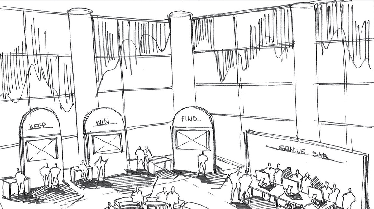 visualization Space  Convention Center pitch concept
