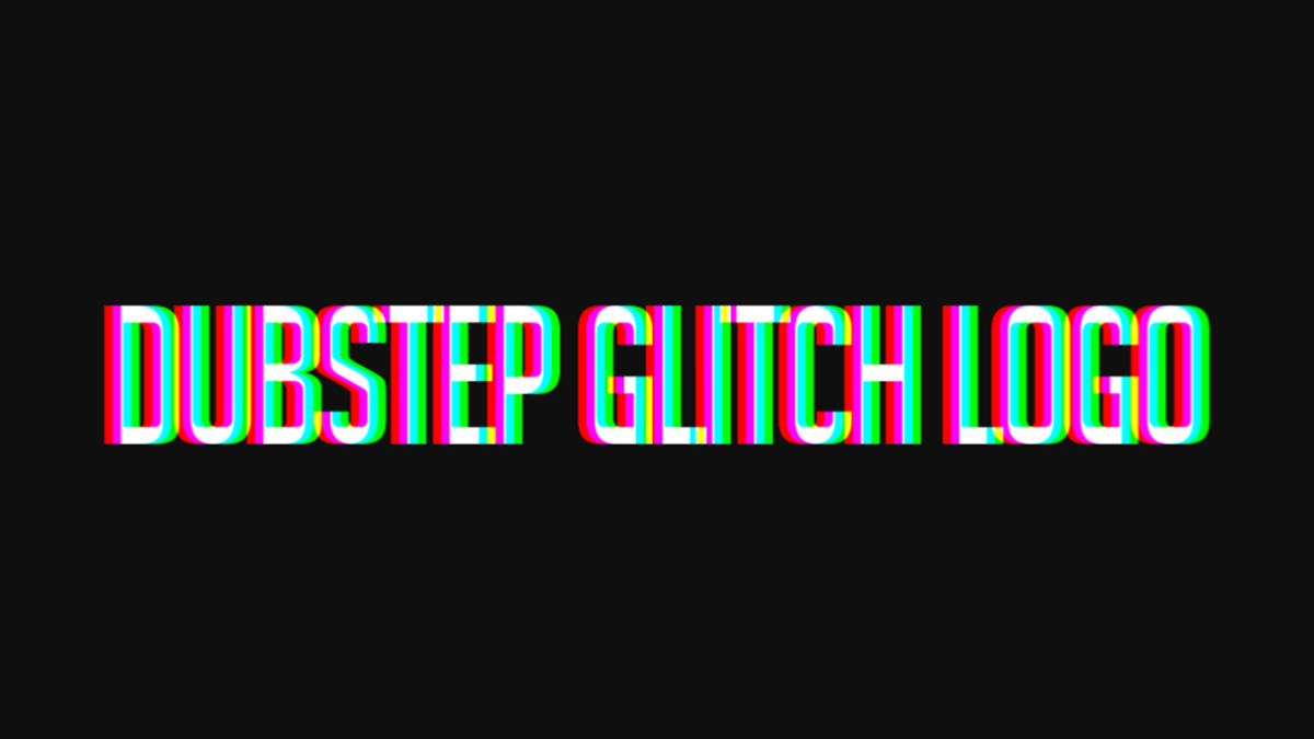 Dubstep glitch logo after effects template on behance thecheapjerseys Choice Image