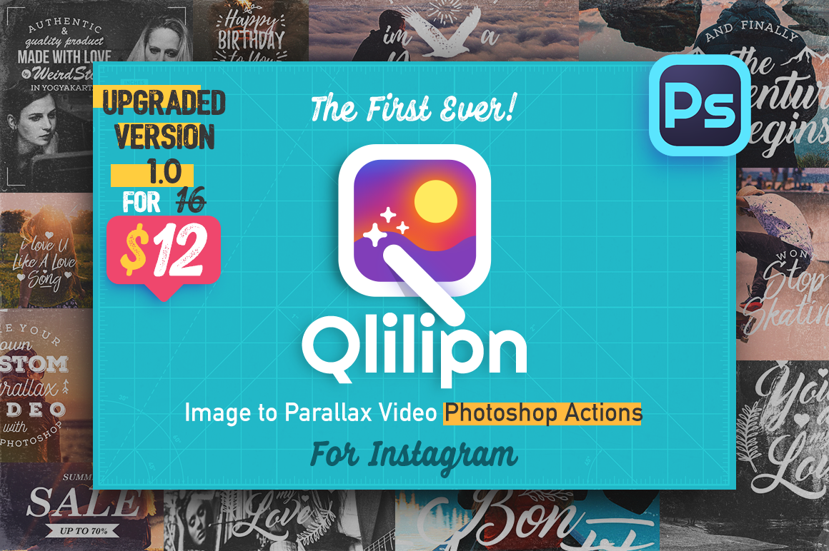 Qlilipn - Photoshop Actions for Instagram Video on Behance