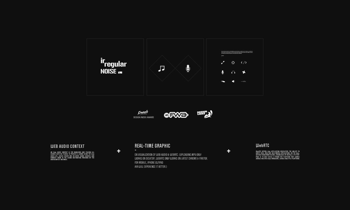 Irregular Noise Audio Visualization on Behance
