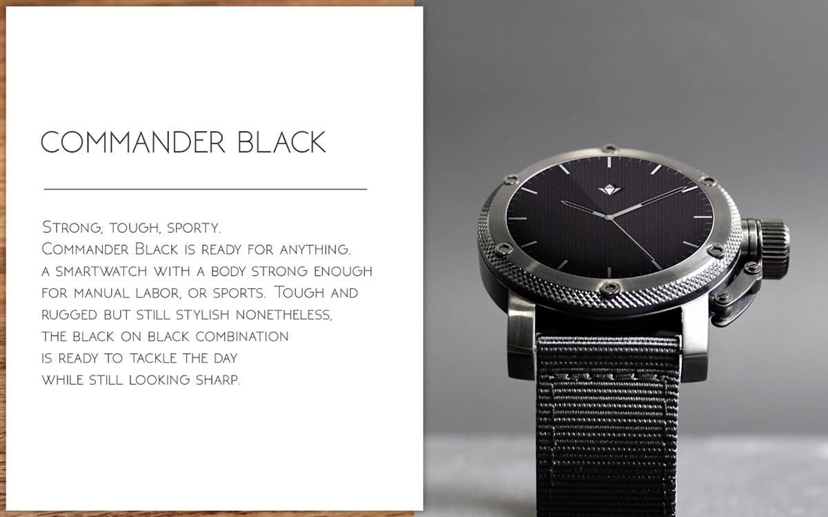 Henlen Smart Watch UI