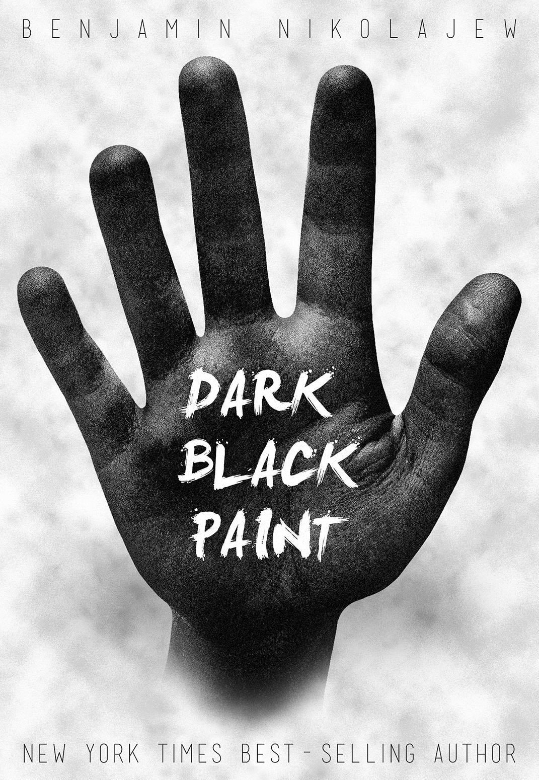 Book Cover Black Paint ~ Nikolajew design quot dark black paint book cover