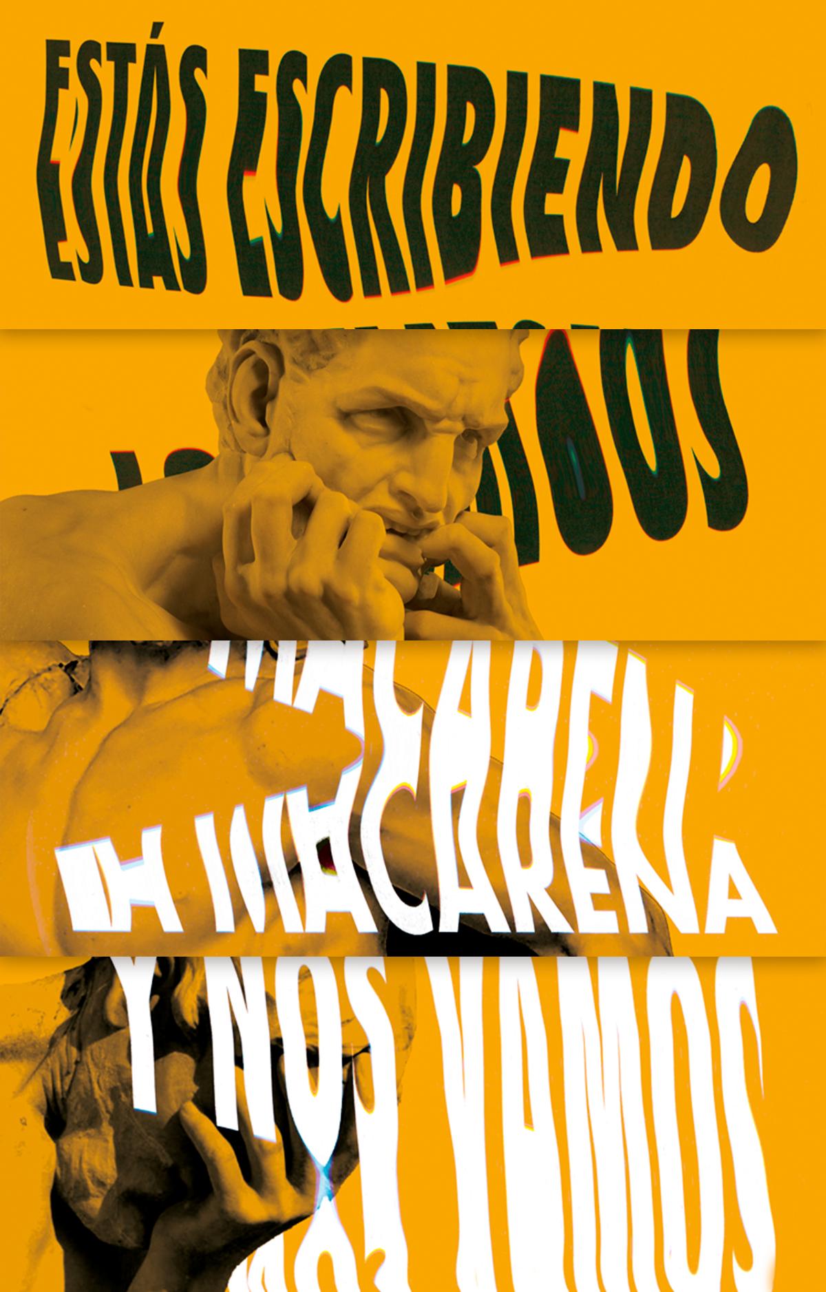 poster,cartel,drunk,scan,distortion,Movilidad,Advertising ,publicidad,Cabify