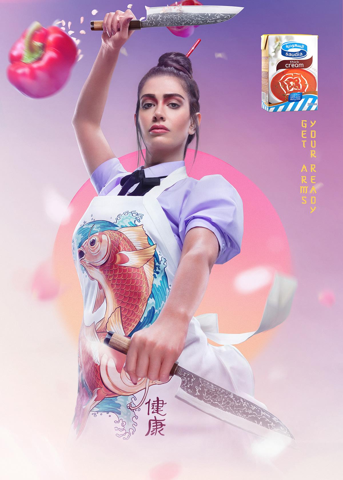 dubai Photography  campaign retouching  Advertising  UAE Saudi Qatar direction art