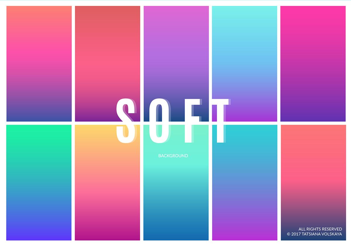 Soft Gradient App Backgrounds On Behance
