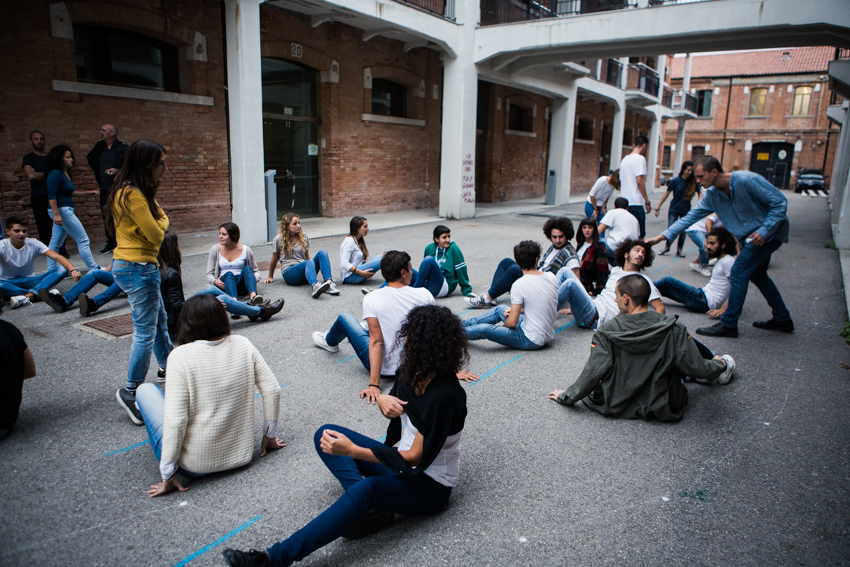 disappeared Performance people Students Venice student Education
