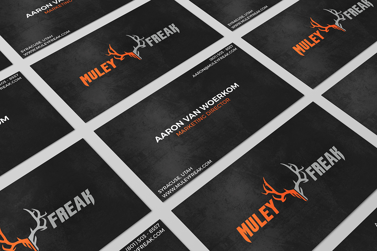Muley Freak Traditional Business Cards on Behance