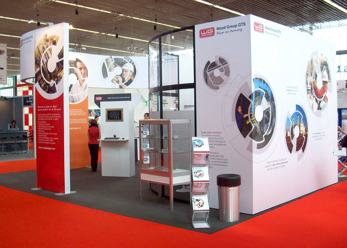 Exhibition Stand Parts : Exhibition stand designs on behance