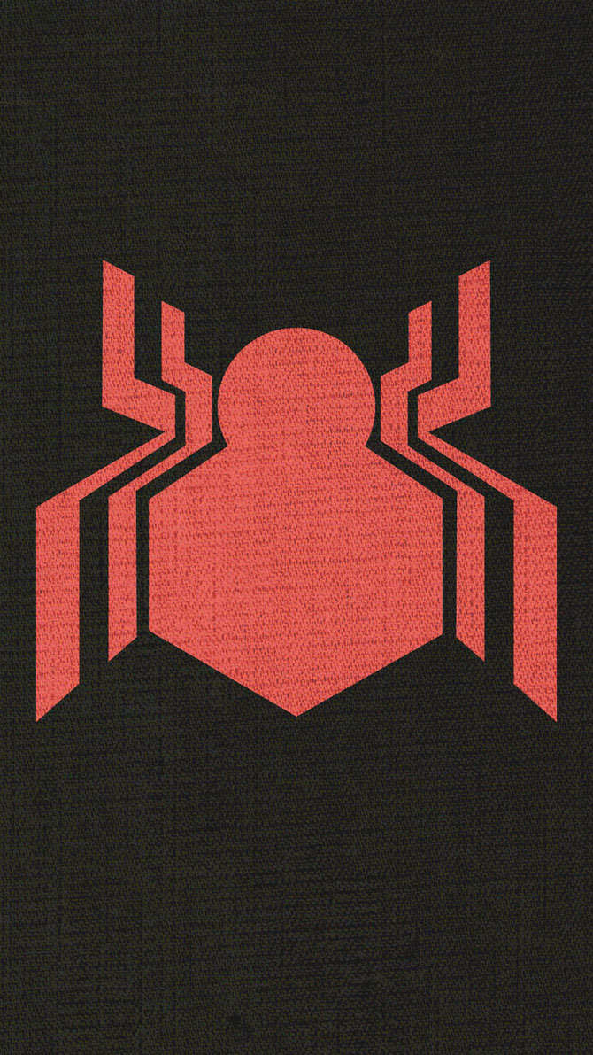 Spider Man Homecoming Logo Wallpaper On Behance