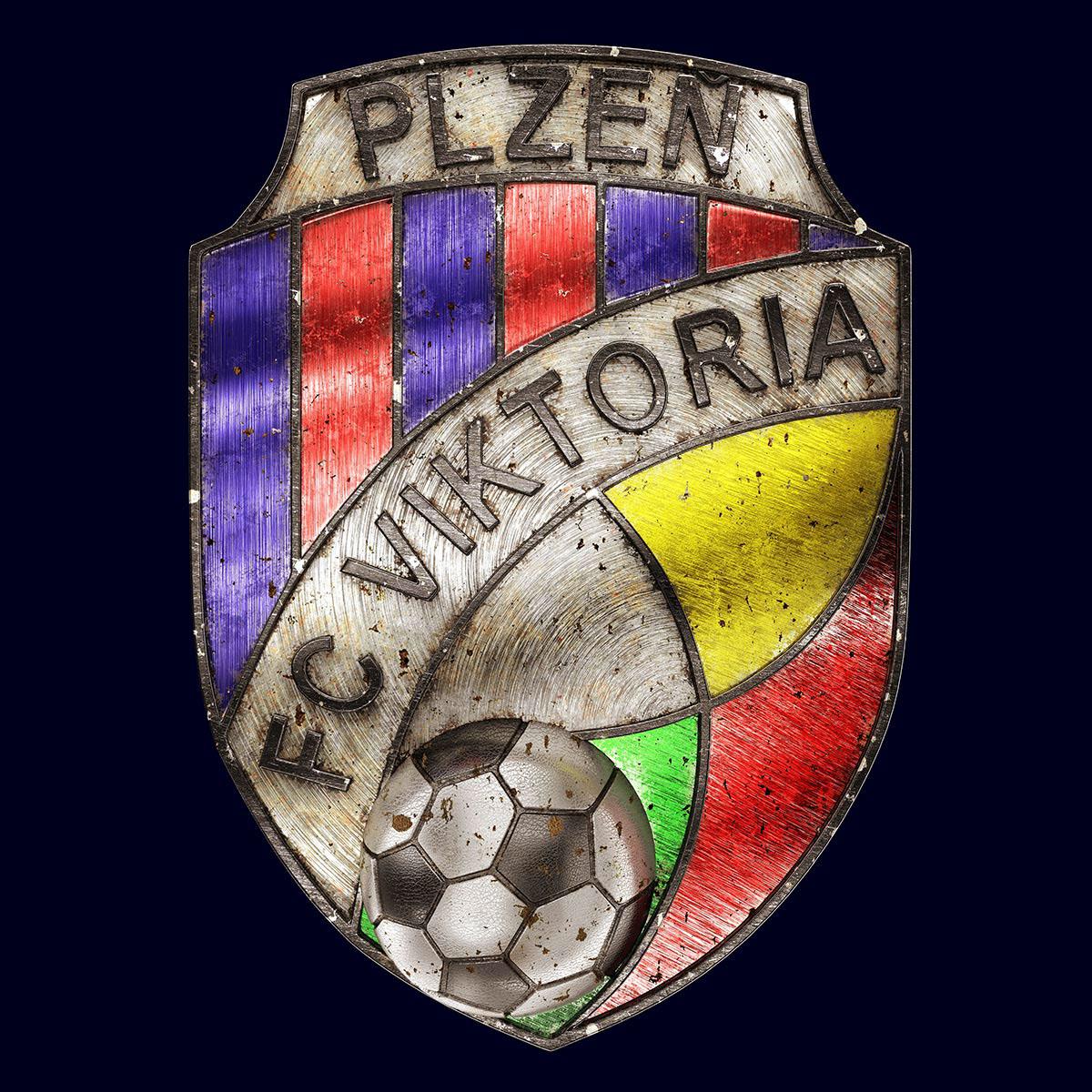 Talisman & Co.   FC Viktoria Plzeň Badge   Andrei Lacatusu