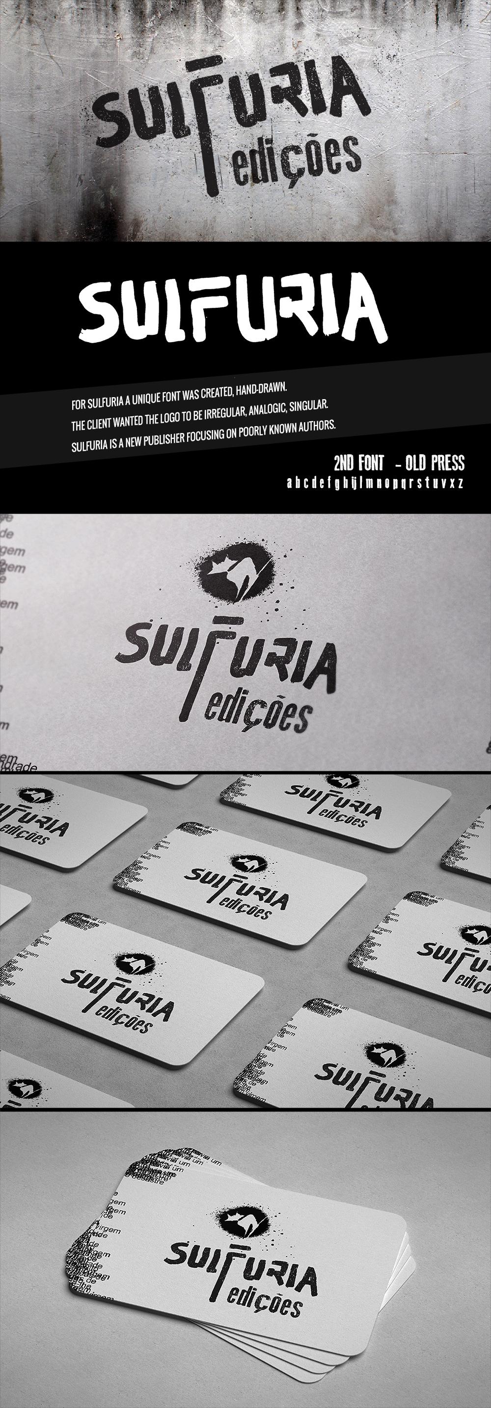 BRAND IMAGE - SULFURIA LOGO Logo Design