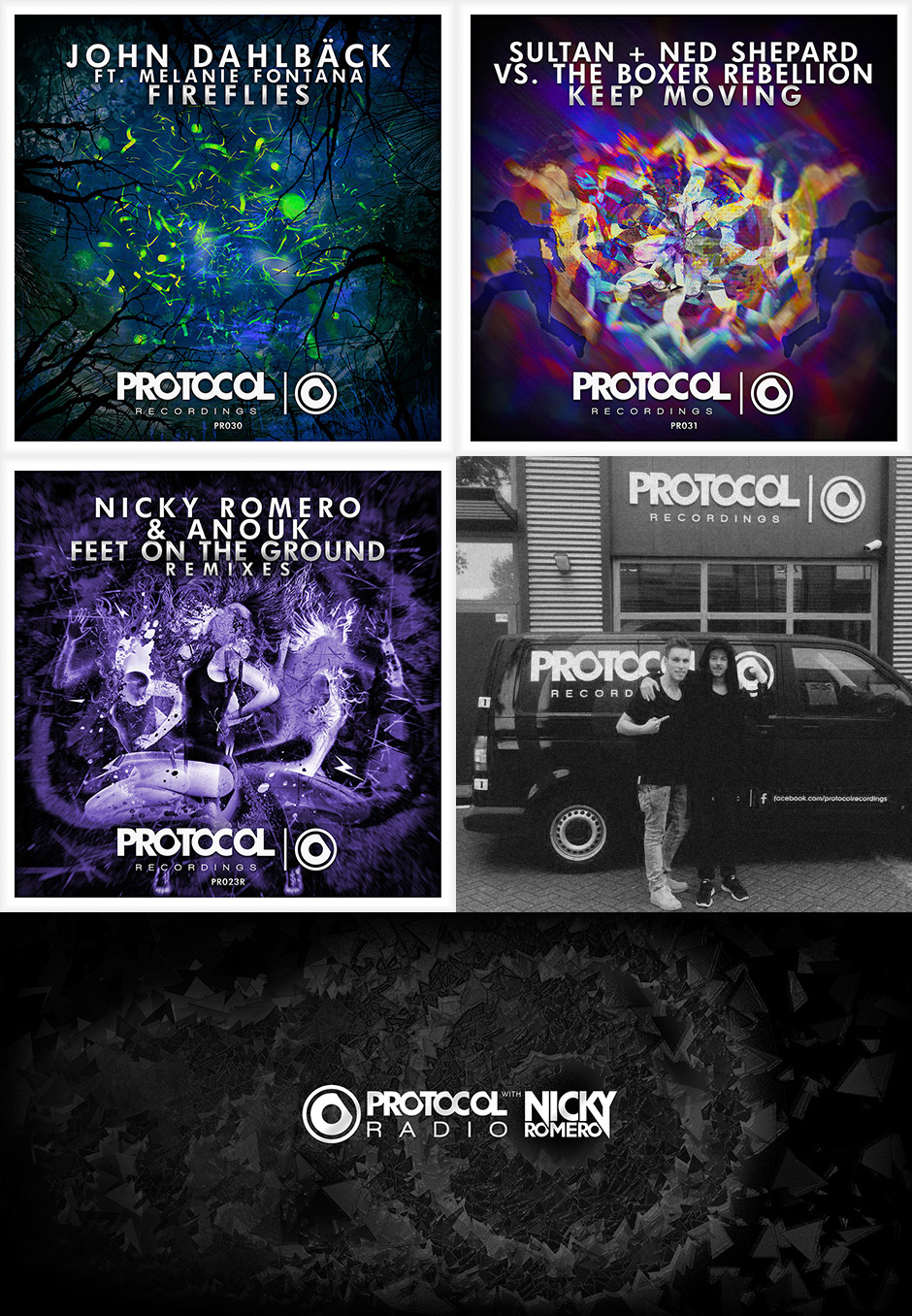 Protocol Recordings - Cover arts on Behance