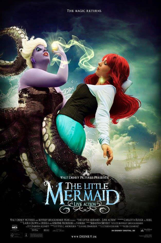 little mermaid live action movie