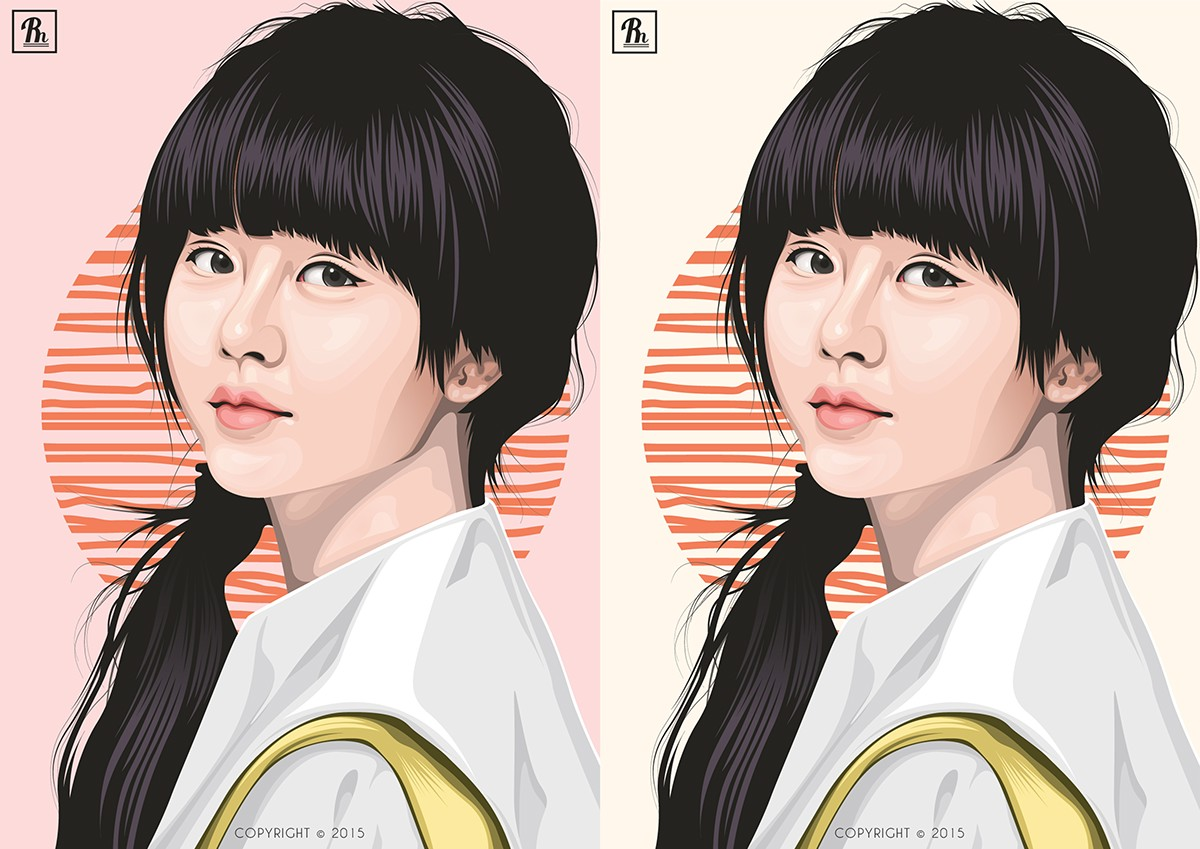 Kim So-hyun on Behance