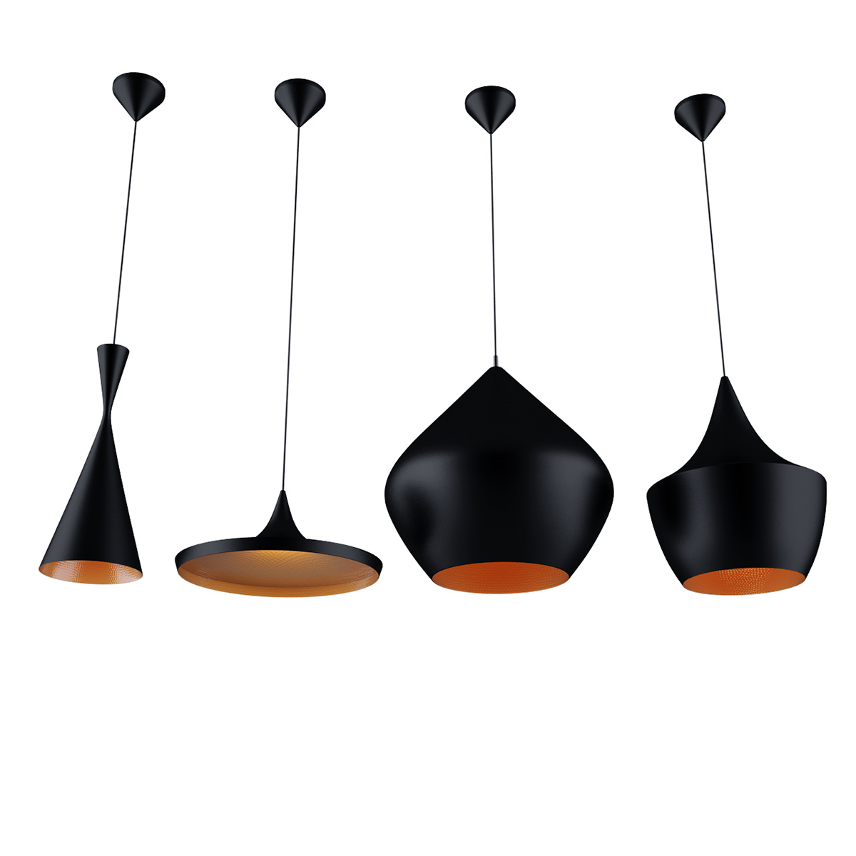 Free 3d model: Beat Lights by Tom Dixon on Behance