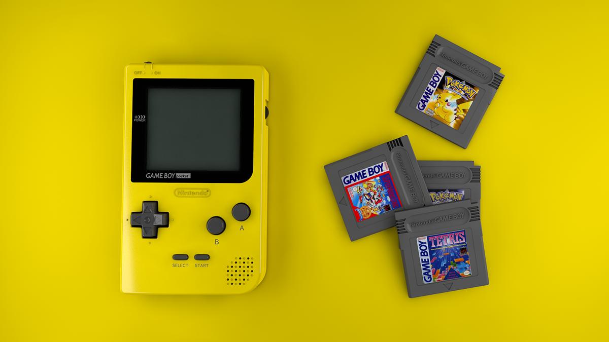 GameBoy Pocket - 3D on Student Show