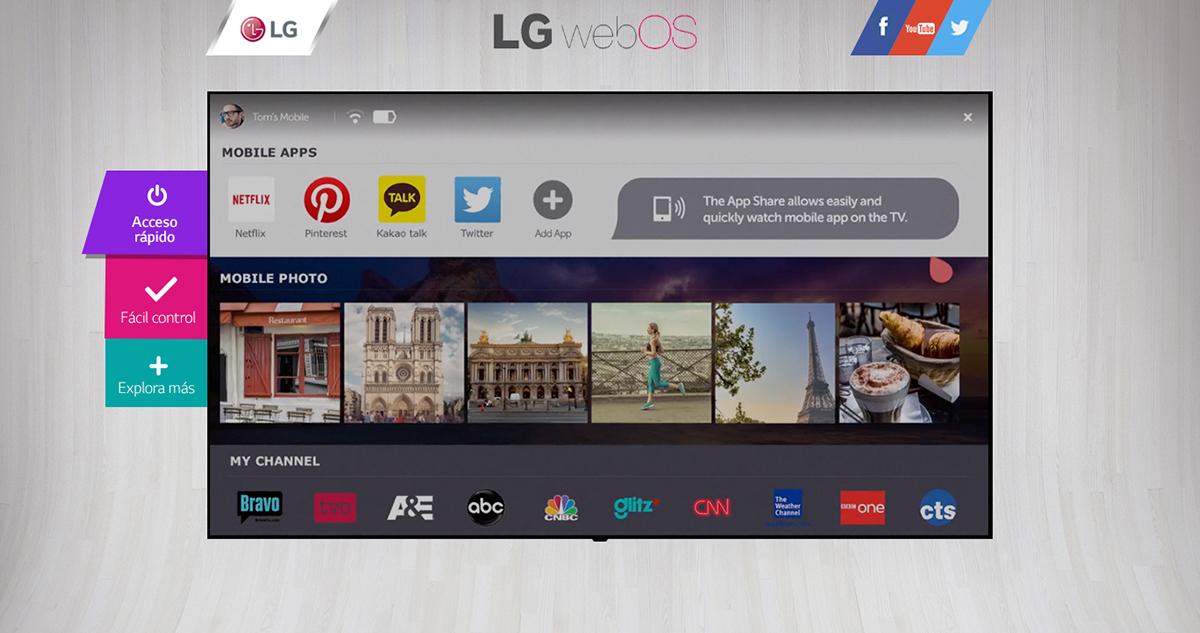 Web Minisite lg Webdesign html5